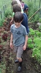 class in garden